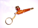 wooden hukka with keychain