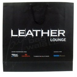 Black Square Type Laminated Bag