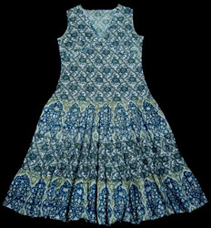 Ladies Printed Frock