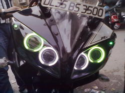 Double Projector Lence In Yamaha R15