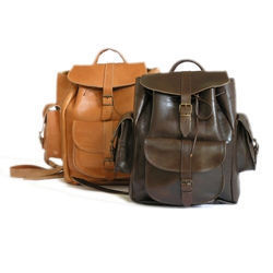leather rucksacks
