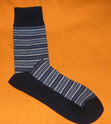 AOV /MN/ST/20 Men Stripe Socks