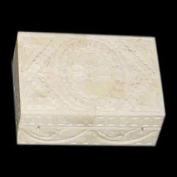 Bone Carved Box