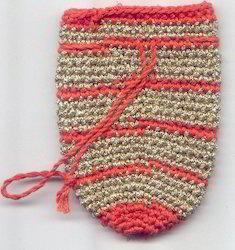 Crocheted Coin Bag CCB22