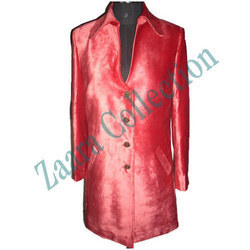 Ladies Silk Coat