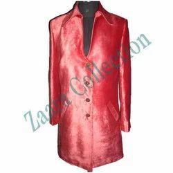 Ladies Silk Coat