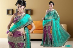 Hand Embroidery Saree