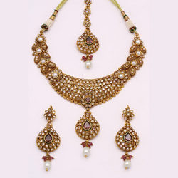Pure Gold Antique Necklace Sets