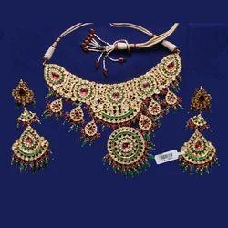 Polki Meena Jewellery