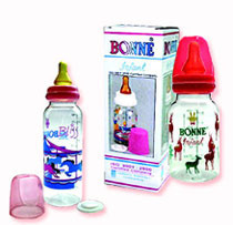 round polycarbonate feeding bottle