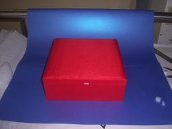 Silk Fabric Covered Boxes For Promotions