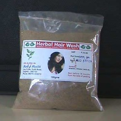 Herbal Hair Wash