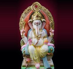 Marble Statue of Ganesha