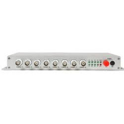 Channel Digital Video Fiber Multiplexer