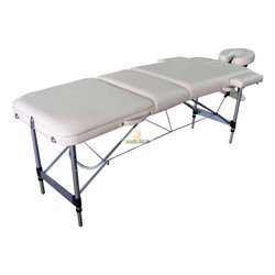 White Foldable Metal Spa Bed