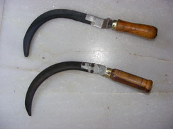 Wooden Handle Sickles