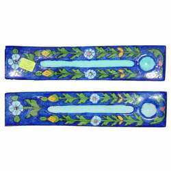 Blue Pottery Incense Holder