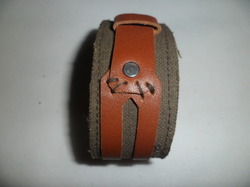 Buff Leather Bracelets