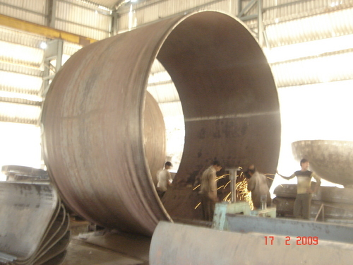 Plate Rolling Fabrication