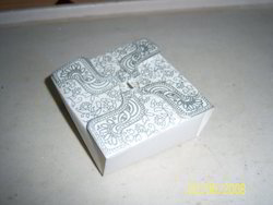 Screen Printed Cake Boxes