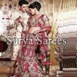 Embroidered Wedding Lehengas