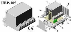 Plastic Electronic Enclosure 112x78x110