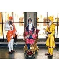 punjabi culture fibre statues