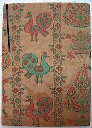 Fabric Covered Block Printed Journals