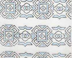 Abstract Design Block Printed Handmade Paper