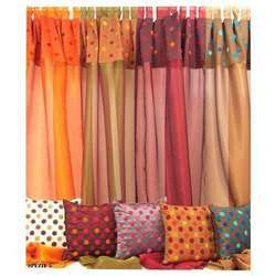 Curtains With Cushion Covers