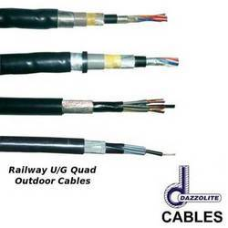 Railway U/G Quad Outdoor cables