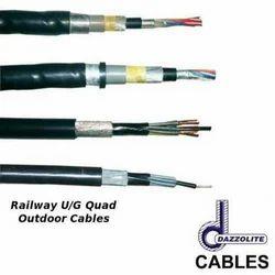 Railway U/G Quad Outdoor cables