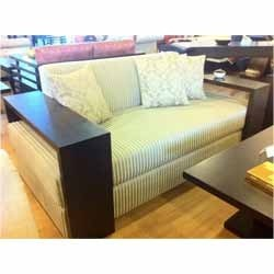 Wooden+Two+Seater+Sofa+Set
