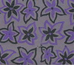 Floral Design Block Printed Papers