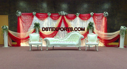 Asian Wedding Mehandi Stage Furniture