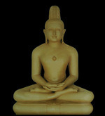 Mahaveer Bhagwan Clay Model
