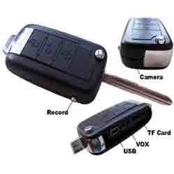 Spy Skoda Key Camera
