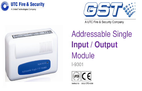 addressable single input output module i 9301 500x500 addressable fire system gst manufacturer from new delhi gst smoke detector wiring diagram at bayanpartner.co