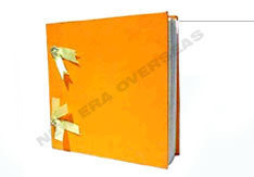Plain Note Book Tied With Ribbon