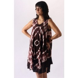 Cotton Tie & Dye Dress