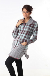 Ladies long sweater 19