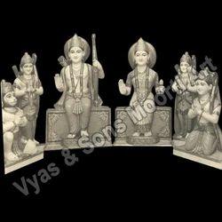 Ram Parivar Marble Statues