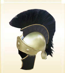 Helmet Greeco Roman Black Wrest