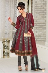 Chanderi Anarkali Suits