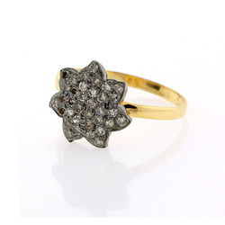 Pave Diamond Sleek Rings