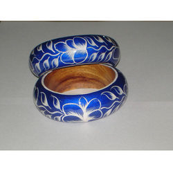 Wooden Bangles Painted