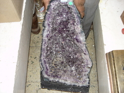 Amethyst Rock Crystal
