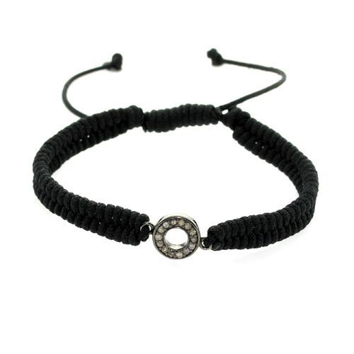 Designer Charm Diamond Bracelet