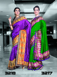 Viscose Georgette Saree