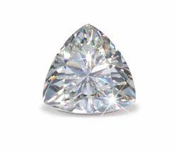 Trillion Cut Moissanite Diamond